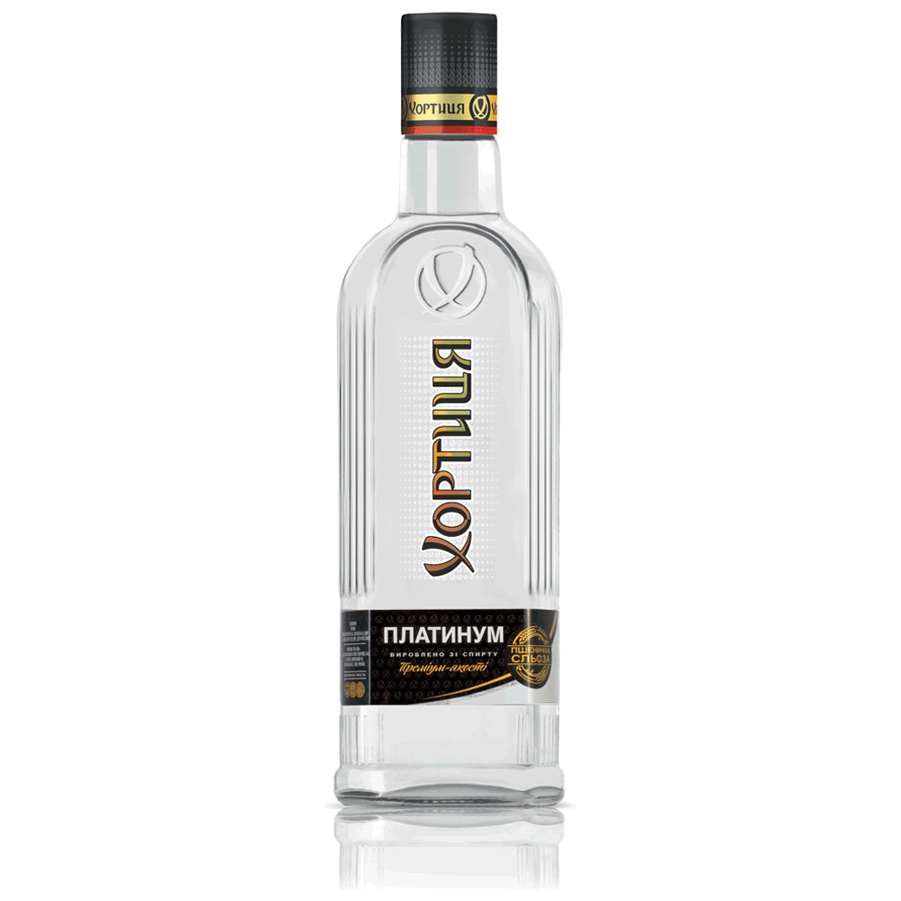 Khortytsa Platinum Vodka 0,7 L / Khortytsa Vodka kaufen / Hortica ...