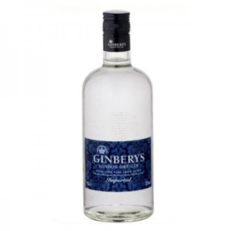 GINBERY'S GIN LONDON DRY GIN 0,7 L 37,5%