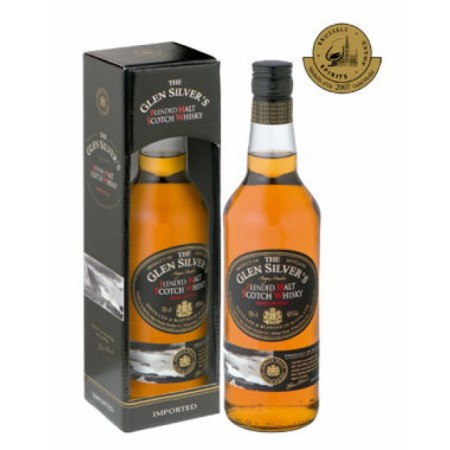 Glen Silver´s Blended Malt Whisky 0,7L 40%