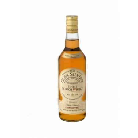 GLEN SILVERS SCOTCH WHISKEY 0,7 L
