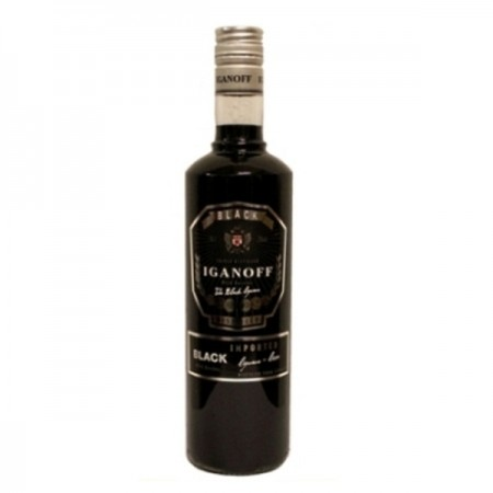 IGANOFF BLACK VODKA LIKÖR 700 ML 21%