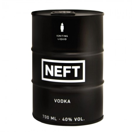 Neft Vodka Black Barrel 40% 0,7 L