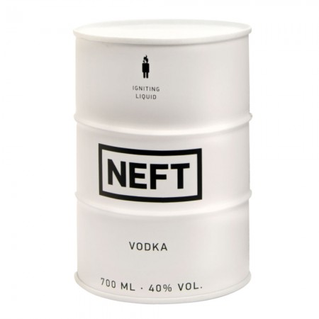 Neft Vodka White Barrel 0,7 L 40%