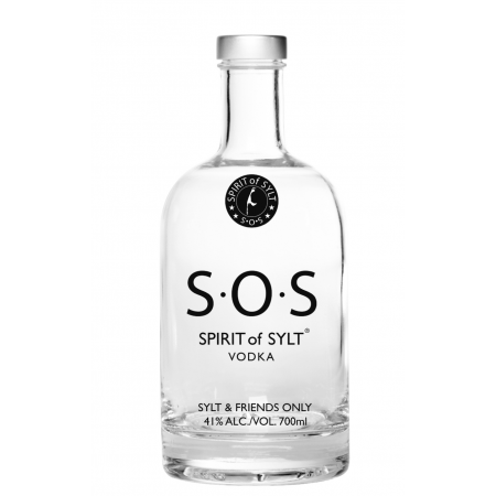 SPIRIT of SYLT PREMIUM VODKA - S•O•S