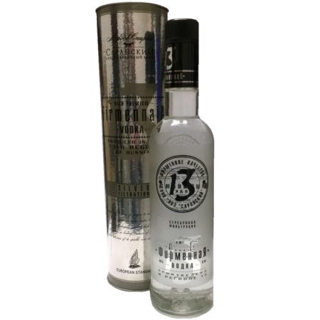 "Vodka Firmennaja ""Region 13"" 0,5 Lt. 40%"