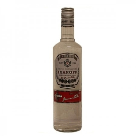 VODKA IGANOFF PURE 0,7 L 37,5%