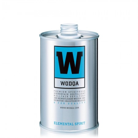 Wodqa - Vodka in Metalldose